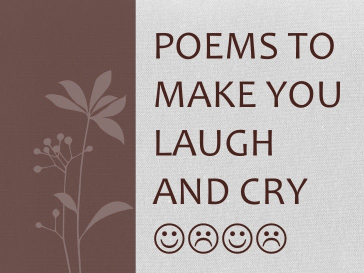 Poem that nakes you laugh