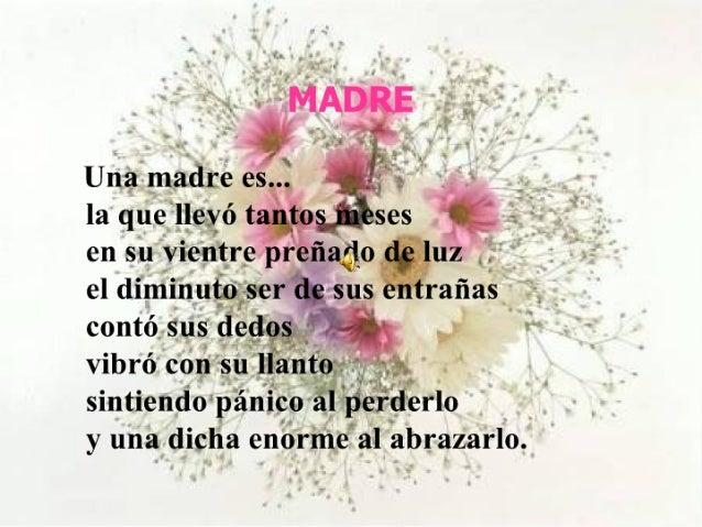 Poesía en Homenaje al Día de la Madre