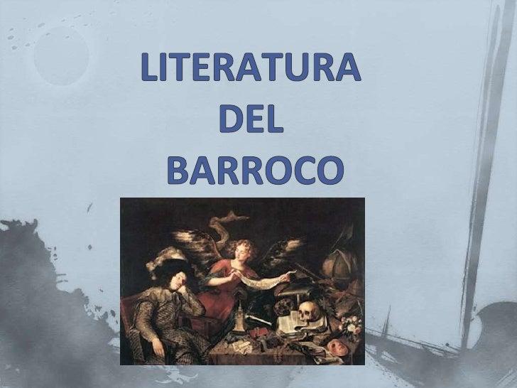 Poesía del barroco (versión corta)