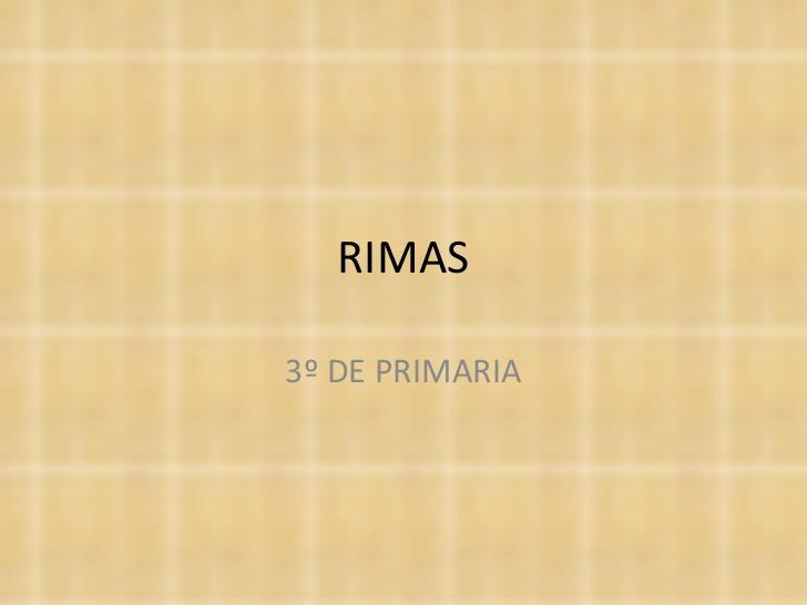 Rimas De Fruta