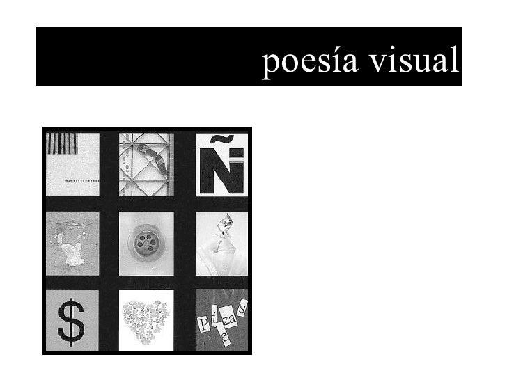 poesía visual