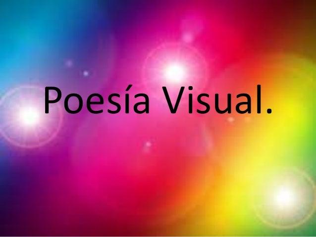 Poesía Visual.