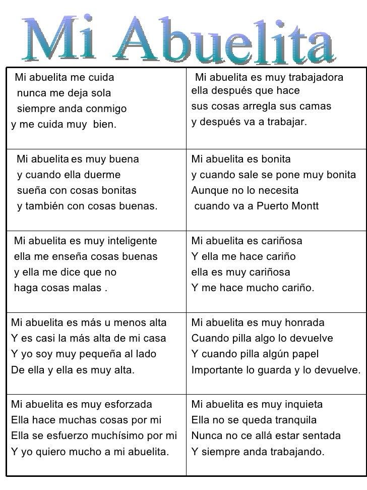 Poemas Para La Abuelita