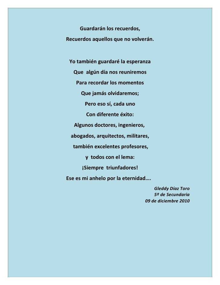 Poesía: Promoción de Excelencia