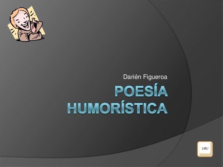 Poesia Humoristica