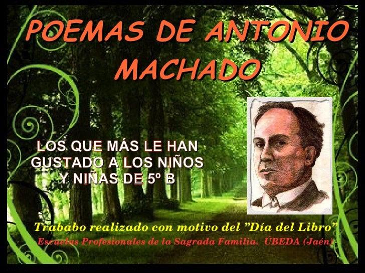 Poesias de Antonio Machado