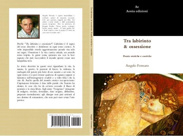 Poesie erotiche di fornaro, copertina