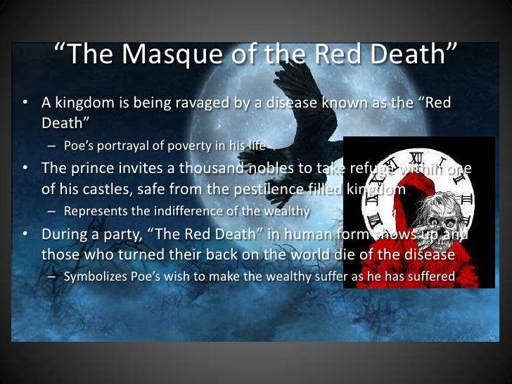 an analysis of the masque of the red death