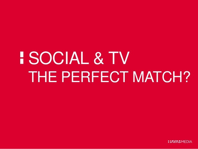 Social & TV:  the perfect match?