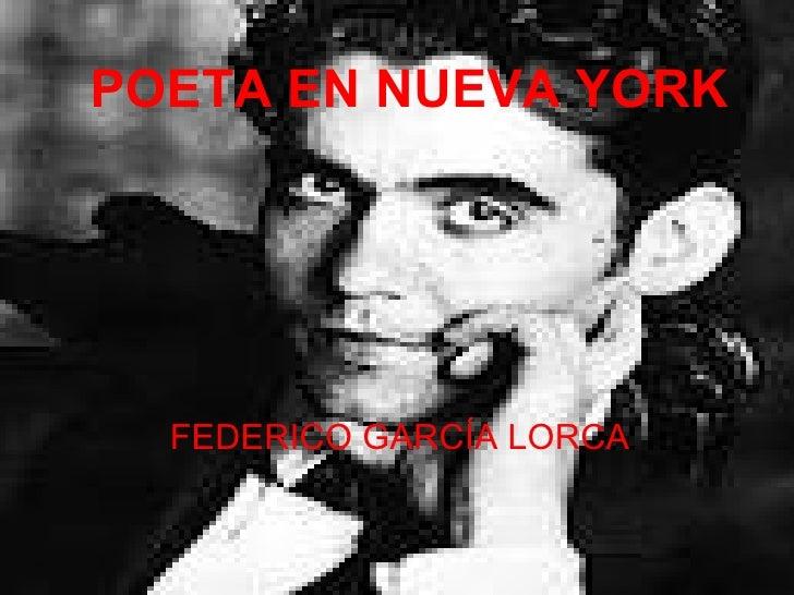 Poeta en nueva york (presentacion)