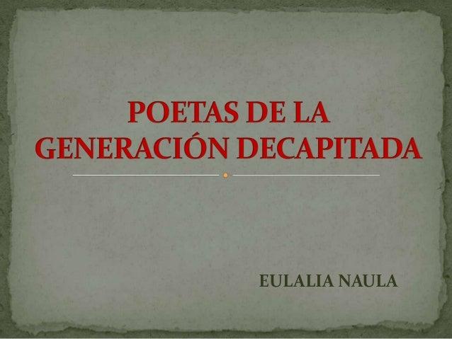 EULALIA NAULA