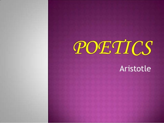 an analysis of hamlet on the poetics of aristotle Poetics by aristotle, part of the internet classics archive.