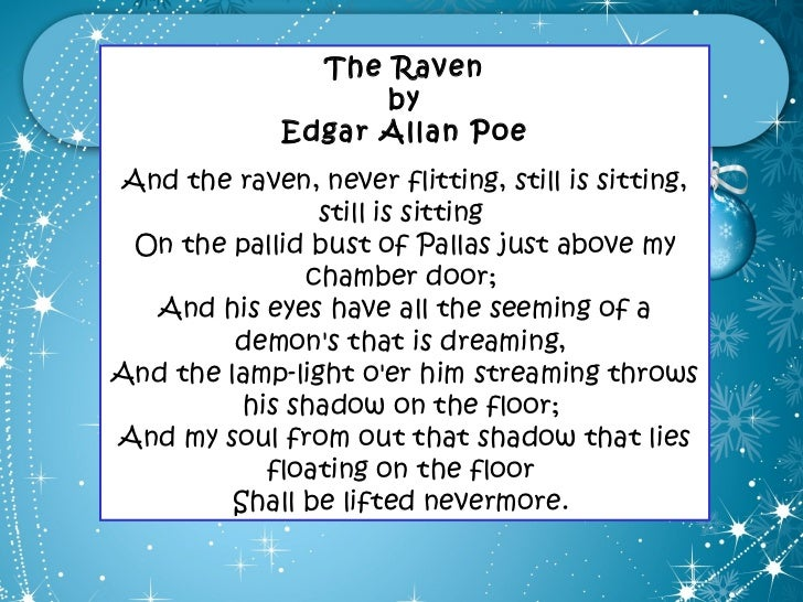 An Analysis Of The Symbolism In The Novel The Raven By Edgar Alan
