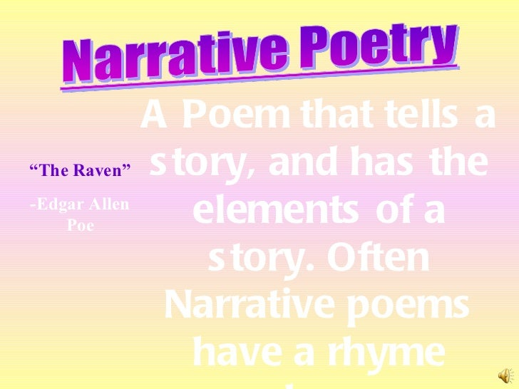 narrative poem Explore anna mackey's board narrative poems on pinterest | see more ideas about narrative poetry, poem and poems.