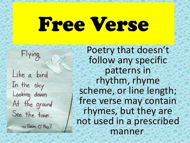 how to write free verse poems Some thoughts on free verse, part i: these poems are a delight to read that i still have not yet told you how to write a free verse poem.