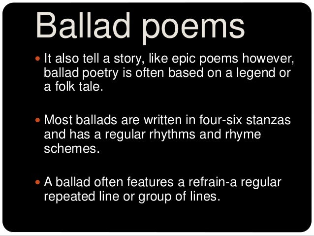 math worksheet : types of poetry : Ballad Poem Examples For High School