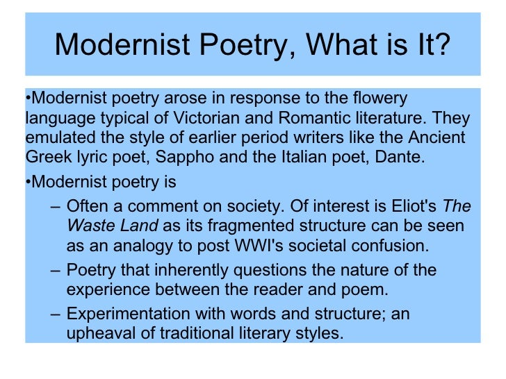 Poetry Movements Project