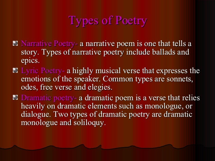discuss the different poetic techniques themes How to read a poem - reading poetry  the techniques of word and  but lines that are not end-stopped present different challenges for readers because they either.