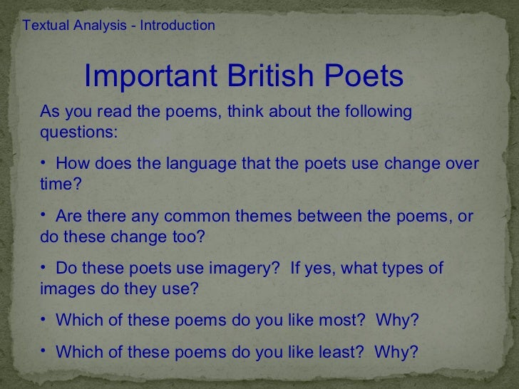 How do you write a short commentary answer on a poem?