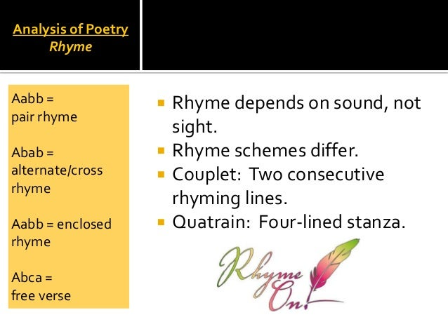 analysis of introduction to poetry A website dedicated to analysing poetry from past and present, to provide a database of articles to summarize and critically analyse any poem  poem analysis .