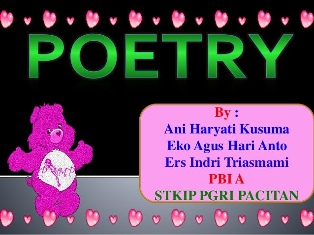 Poetry In Literature