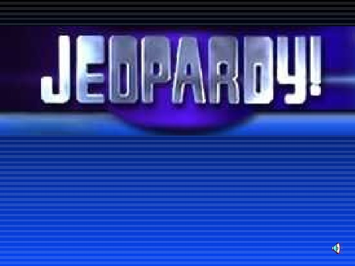 Poetry Jeopardy