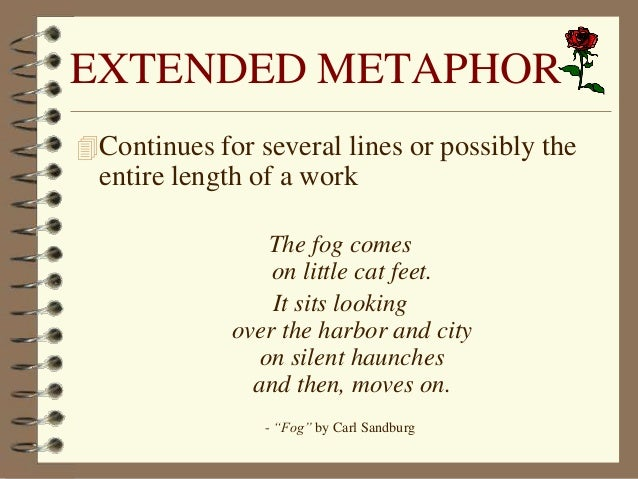 exle of extended metaphor extended metaphor exles pictures to pin on pinsdaddy