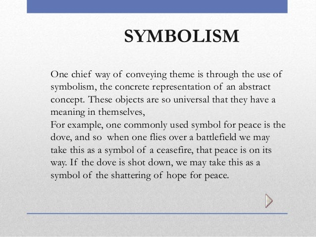 Examples of Symbolism  YourDictionary