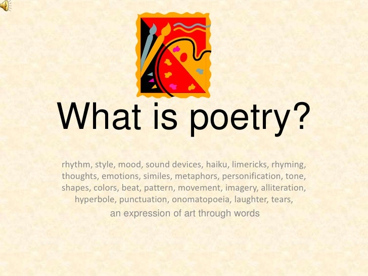 sound devices in poetry pdf