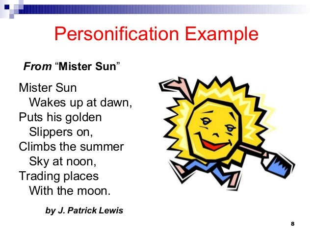 Simile example in poetry