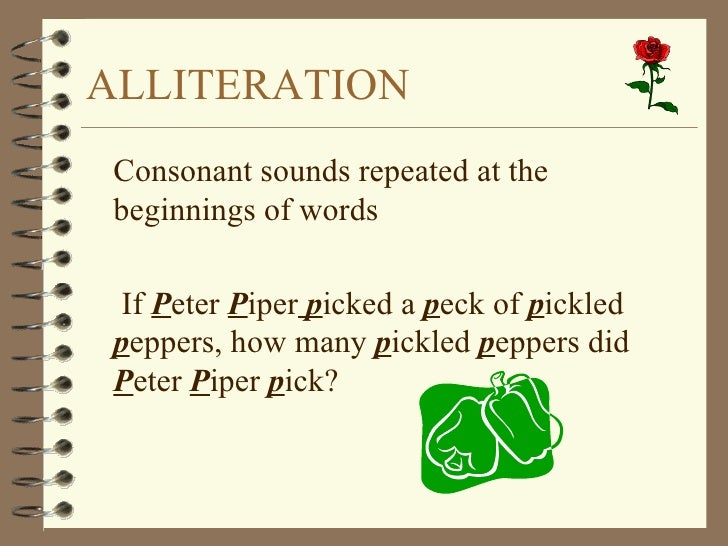 Pics for alliteration examples peter piper for Alliteration poem template