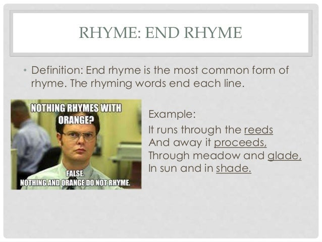 What are Common Poetic Terms?