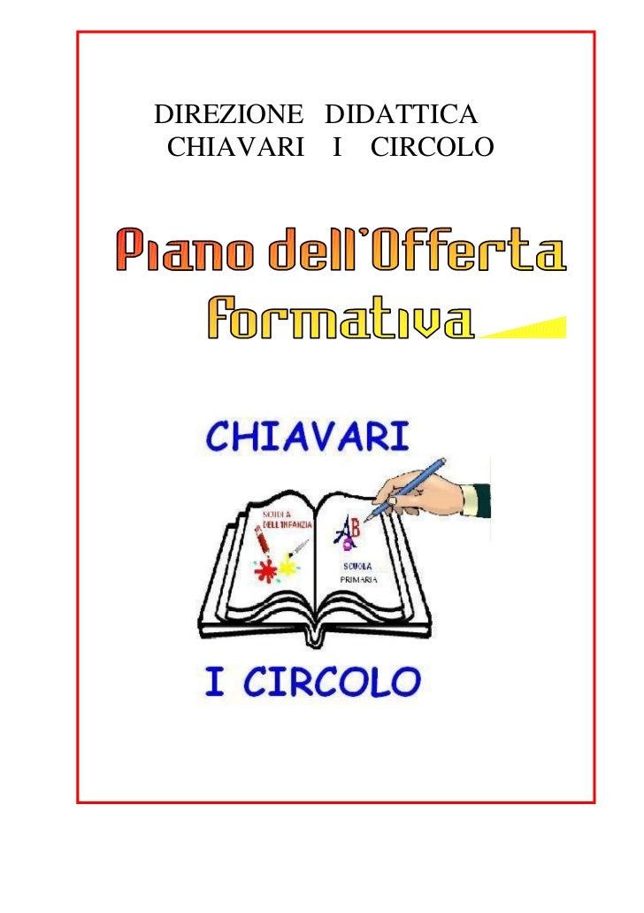 DIREZIONE DIDATTICA CHIAVARI I CIRCOLO