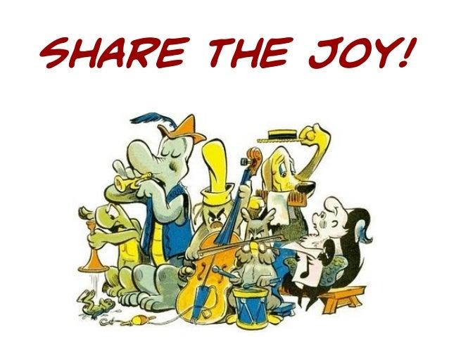 Share the Joy!