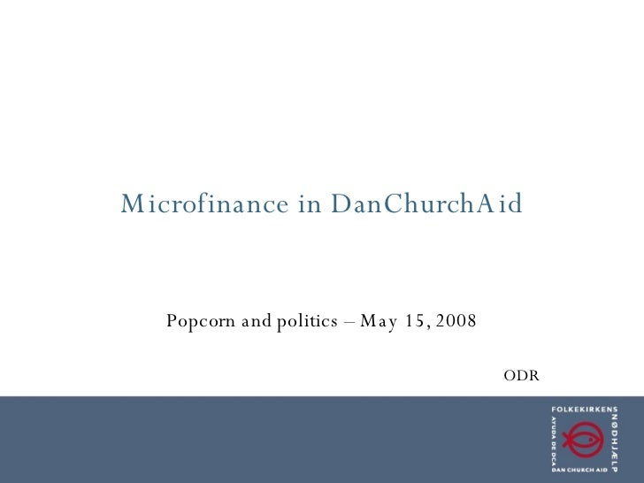 Microfinance and DanChurchAid