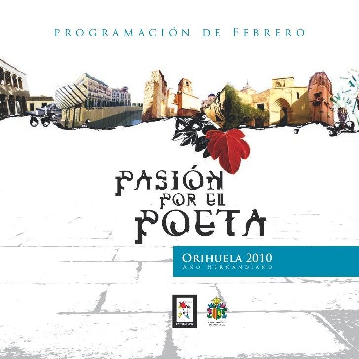 Programa Febrero Año Hernandiano