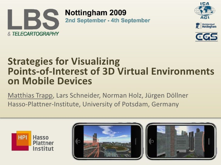 Point-Of-Interest Visualization (LBS 2009)