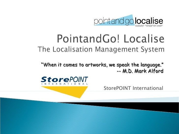 Pointand Go! Localisev2 Nh
