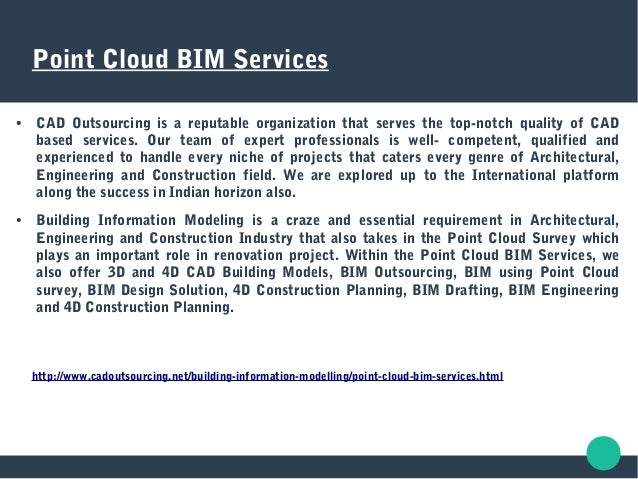 point cloud bim services