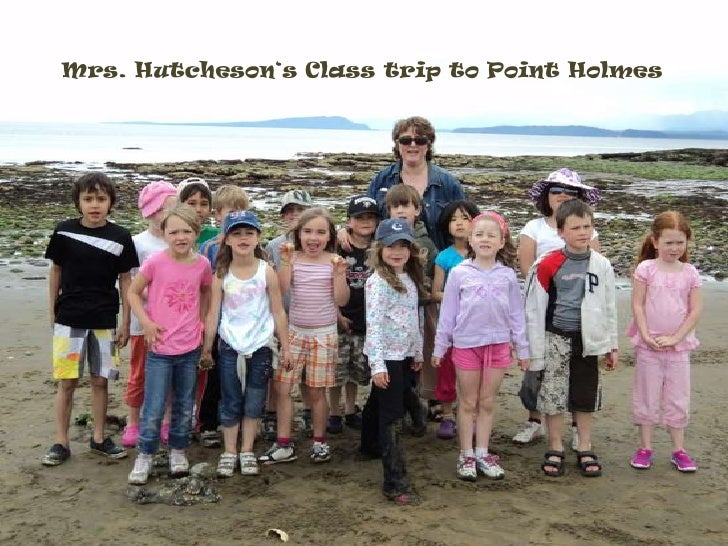 Mrs. Hutcheson's Class trip to Point Holmes<br />