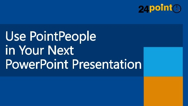Expressive PowerPoint Presentations - PointPeople