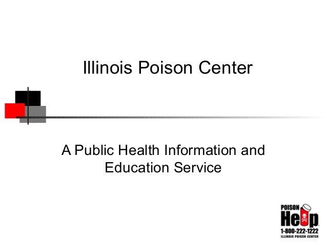 Poison Center Services 2008