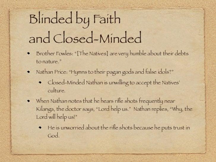 poisonwood bible analysis