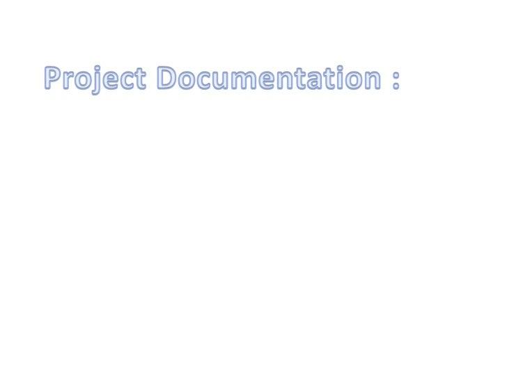 Poject documentation deepak