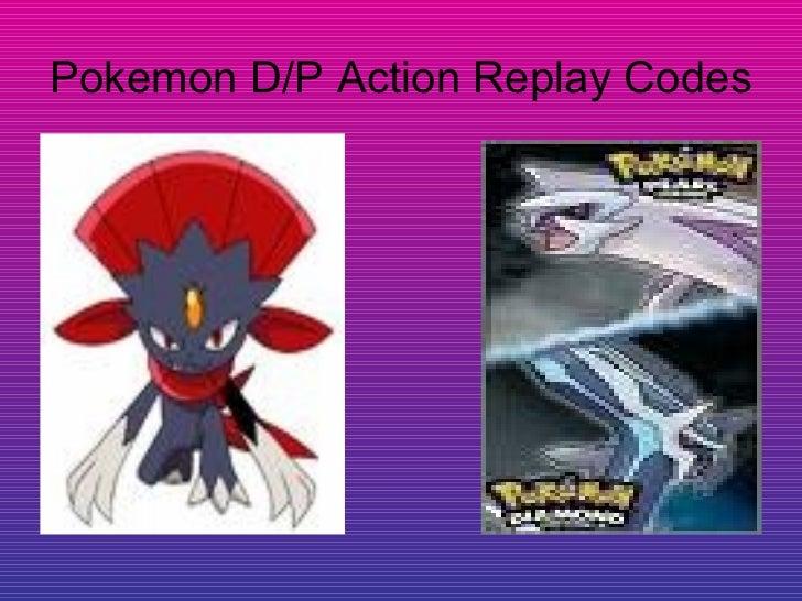 Pokemon Diamond Pearl Action Replay Codes