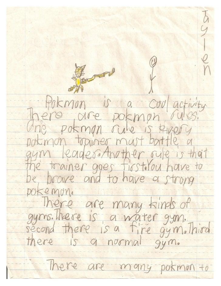 Pokemon by Taylen Grade 2