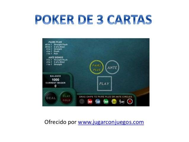 Poker de 3 Cartas Juego