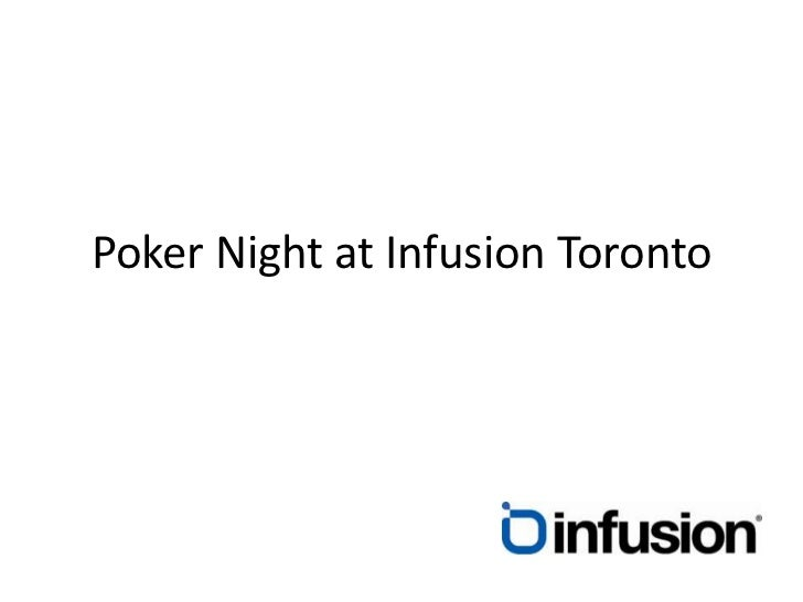 Poker Night at Infusion Toronto<br />