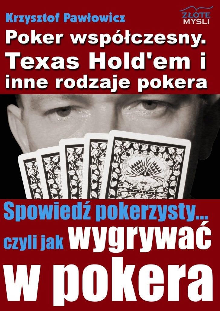 Regolamento poker texas pdf
