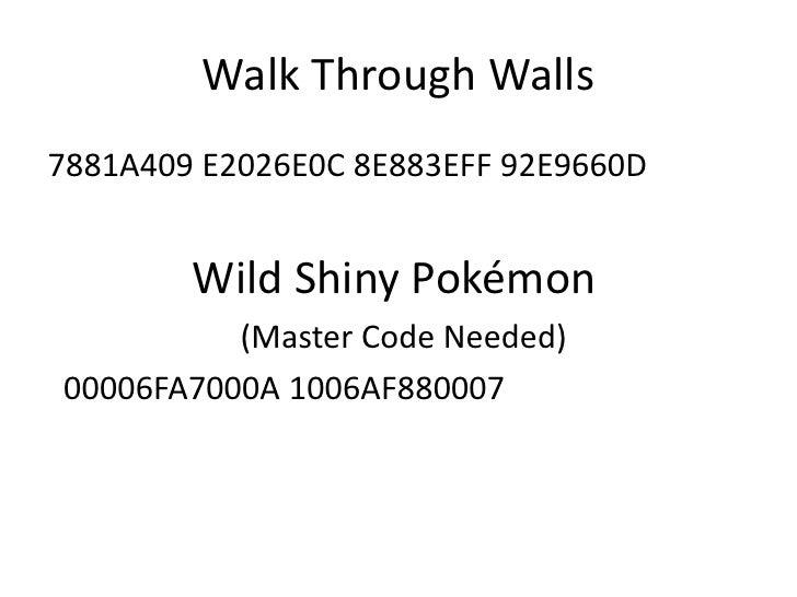 gameshark pokemon emeralda: